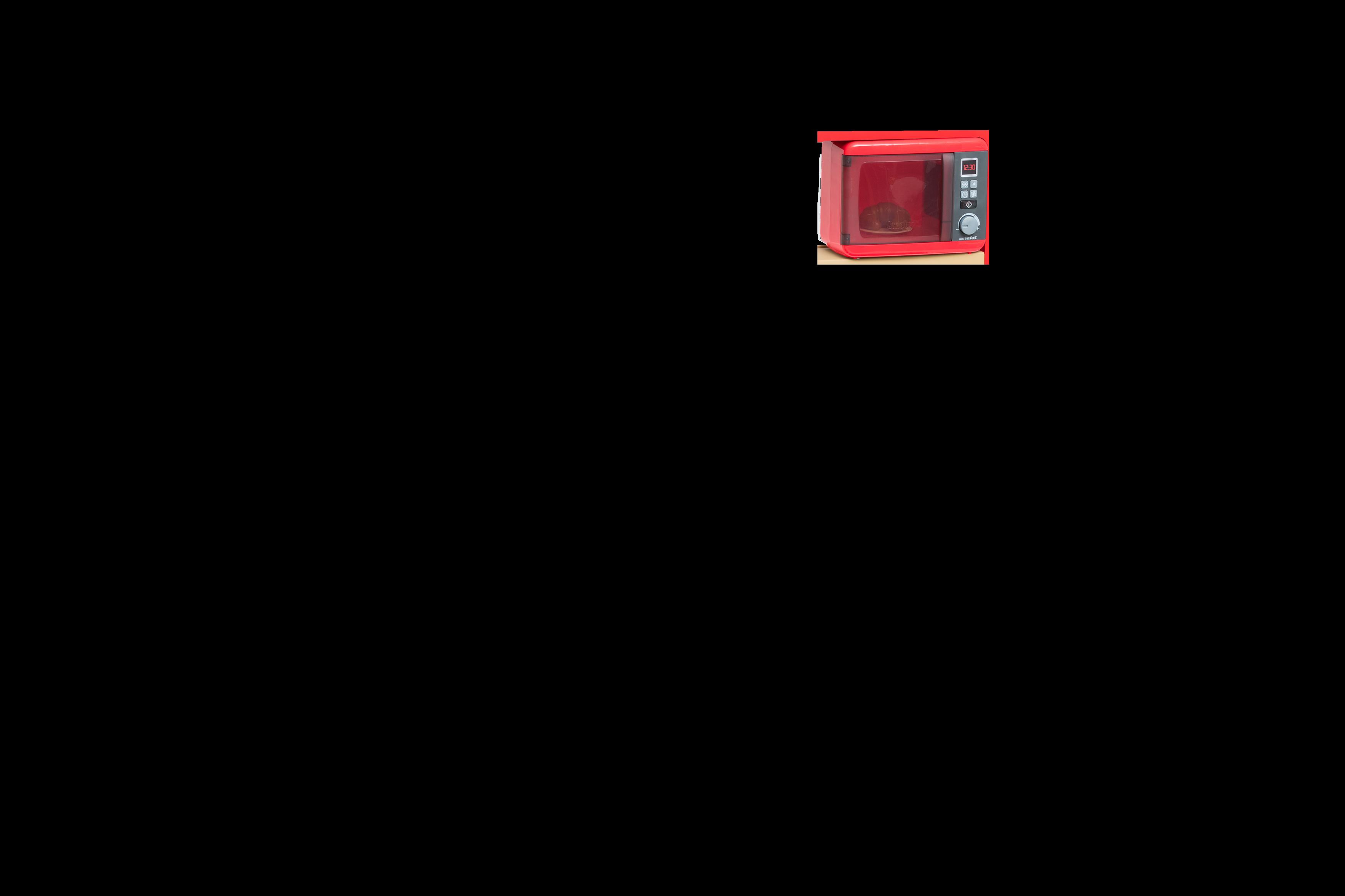 Kuchyňka rostoucí s tekoucí vodou Tefal Evolutive Grand Chef Smoby červená s magickým bubláním, těstovinami, mrkví, židlí a 43 doplňků